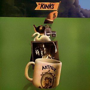 Front cover art for the Kinks ARTHUR album.
