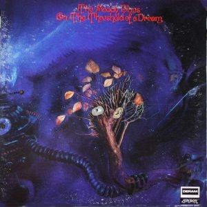 Bloody Rock: cover of the Moody Blues' ON THE THRESHOLD OF A DREAM album.