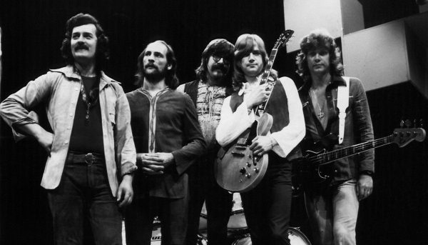 Bloody Rock: photo of the Moody Blues' in the early 1970s.