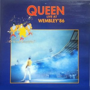 Lawrence Bray: cover of Queen's LIVE AT WEMBLEY '86 album.