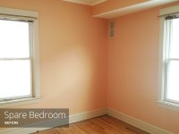 Painting the bedrooms: Peach out | Rather Square