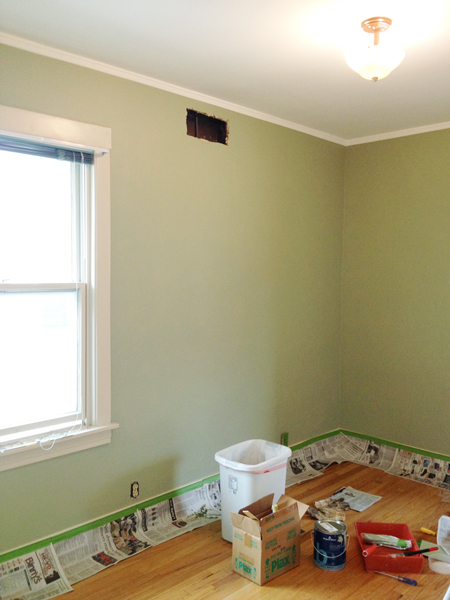 Painting the bedrooms Peach out  Rather Square
