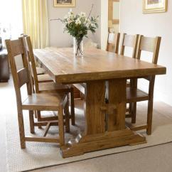 Oak Kitchen Table Where To Start When Remodeling A Fitzwilliam 7ft Dining An Error Occurred