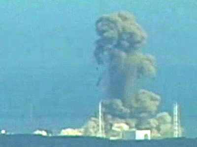 Fukushima Explosion, March 11, 2011