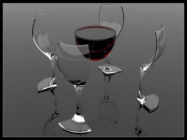 WineGlassAbstract