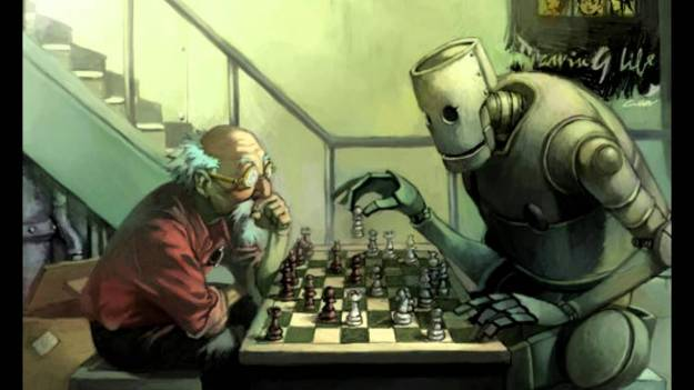human-robot-chess-cartoon
