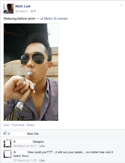 Facebook Cigar