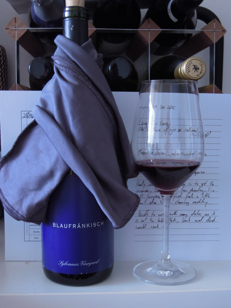 Channing Daughters 'Sylvanus Vineyard' Blaufrankisch 2010