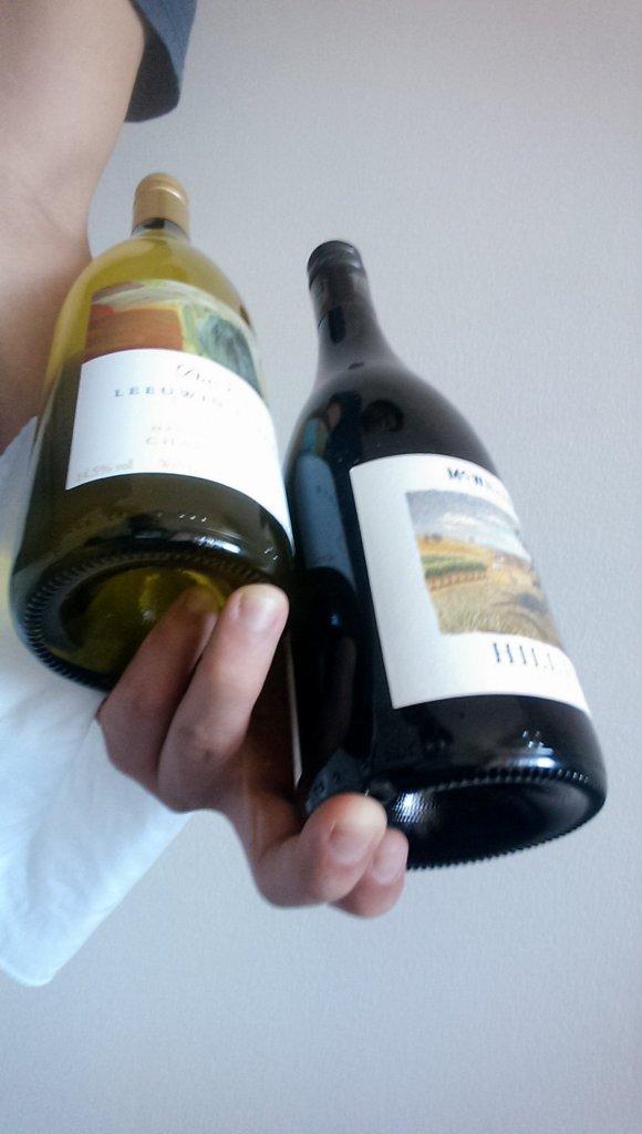Two Bottles Finger Position