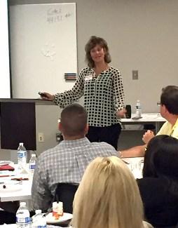 Jennifer Cohen presented an Emotional Intelligence class