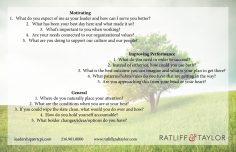 25 Questions to Influence and Engage Card - Back