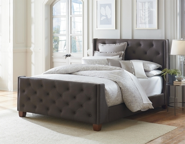 modern gray sofa set accent chairs for black leather upholstered headboard and footboard 2019 | bed ...