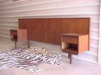 Headboard with Nightstand Attached | Bed & Headboards