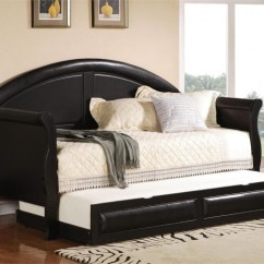 Space Saving Sofa Bed Mickey Flip Open Cheap Daybed With Trundle | & Headboards
