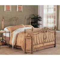 Queen Size Antique Metal Beds With Headboard Footboard ...