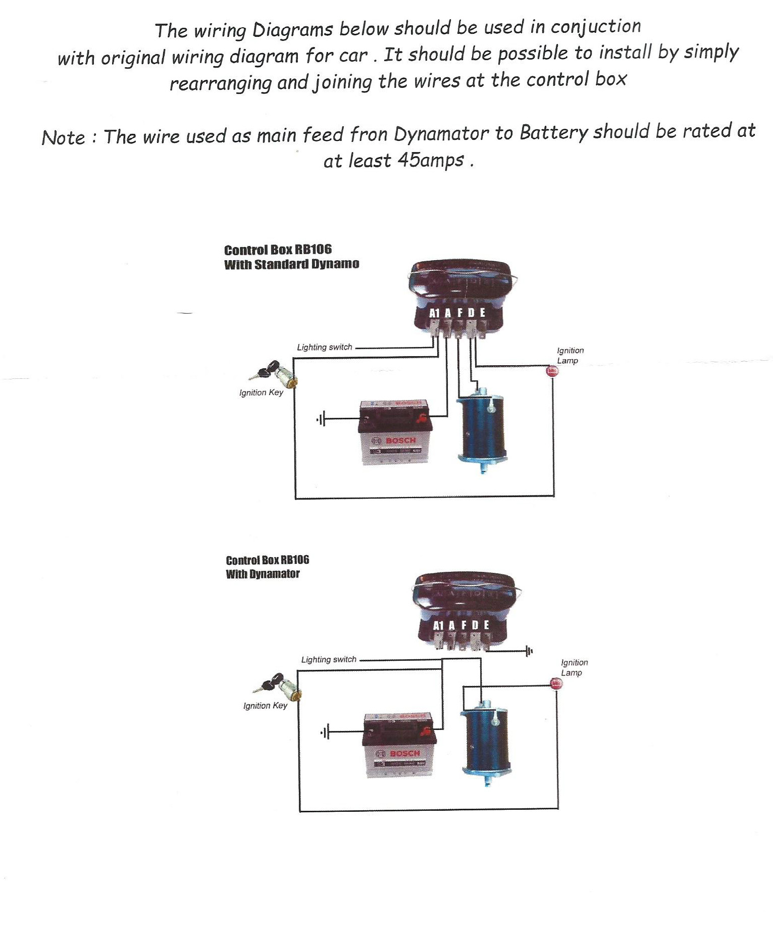 dynamo to alternator conversion wiring diagram 2002 pontiac grand prix