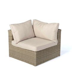 Three Sixty Round Sofa Lounger Tara Sectional Rattan Lounge Gartenmöbel Kuala Natural