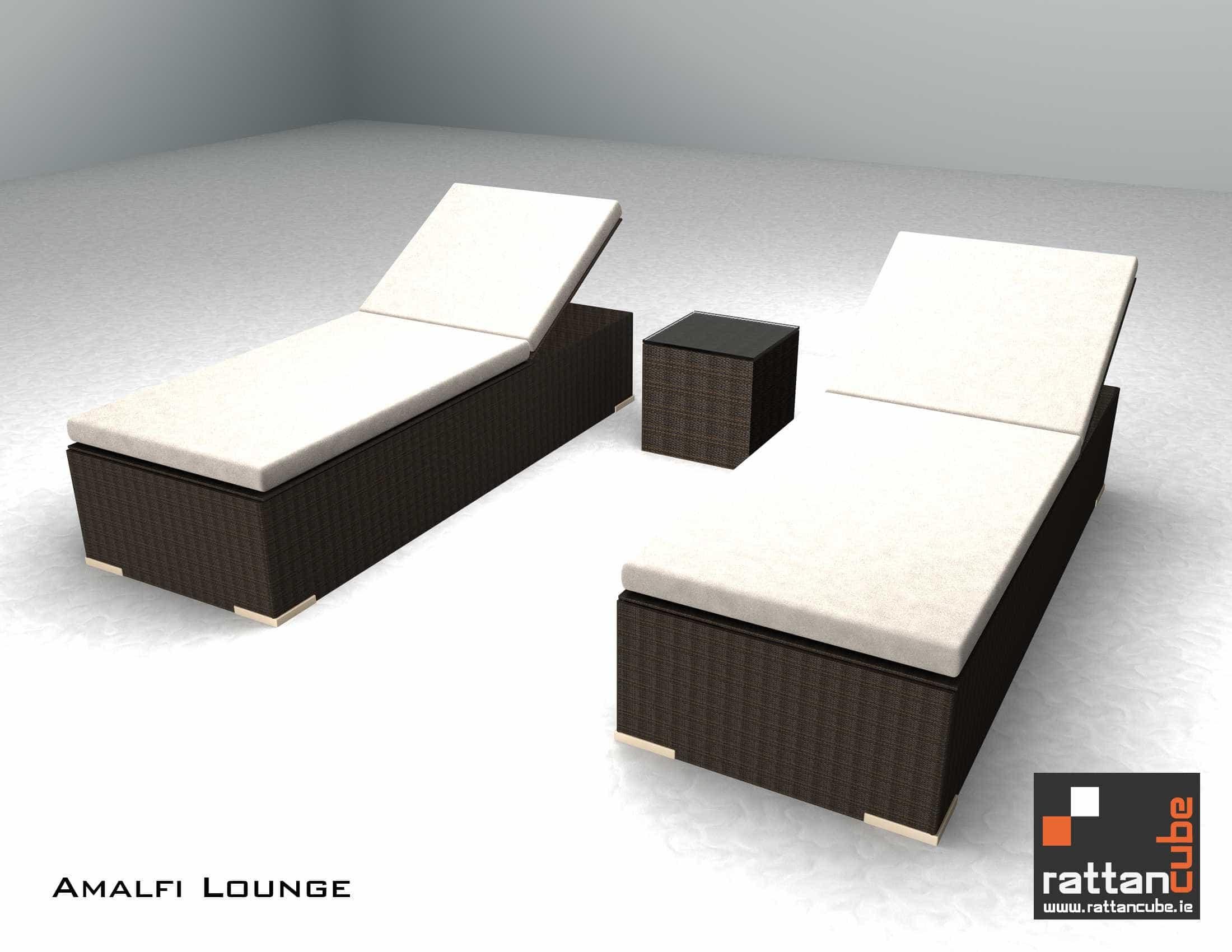 folding banana lounge chair gold covers amazon outdoor furniture amalfi loungers