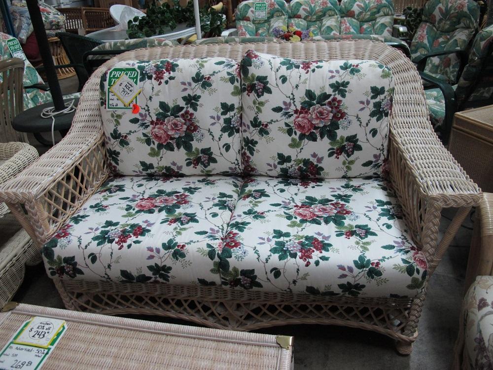 sofa and chairs bloomington mn normann copenhagen rope bar harbor chair loveseat - rattan depot