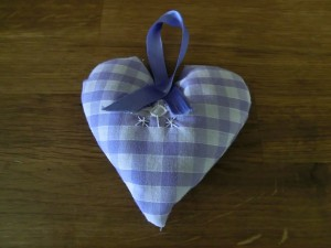 Lavender is good for you! Make a lavender bag to keep the scent of summer through the winter. Sarah Buchanan