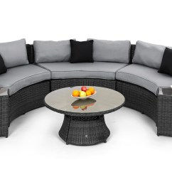 Maze Rattan Half Moon Sofa Set Grey Atlas Brown Top Grain Leather Reclining Sectional Stkittsvilla