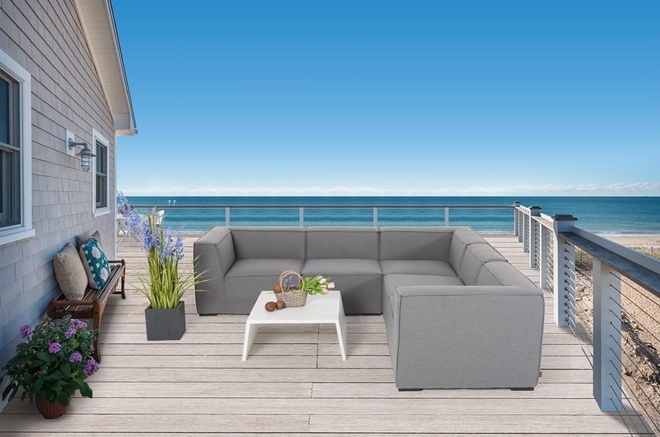 Outdoor Lounge  Sunbrella Outdoorstoff  Wetterfeste