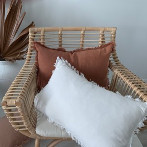 clio rattan chair styled
