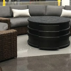 Rattan Half Moon Sofa Set Gaming Malaysia Top Glass Round Table Garden Furniture Brown Suppliers And Manufacturers China Factory Wellfurnir