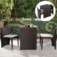 2 Chairs And Table Rattan Zero Gravity On Sale Small Patio Furniture Set Garden Outdoor Bistro Wicker Chair