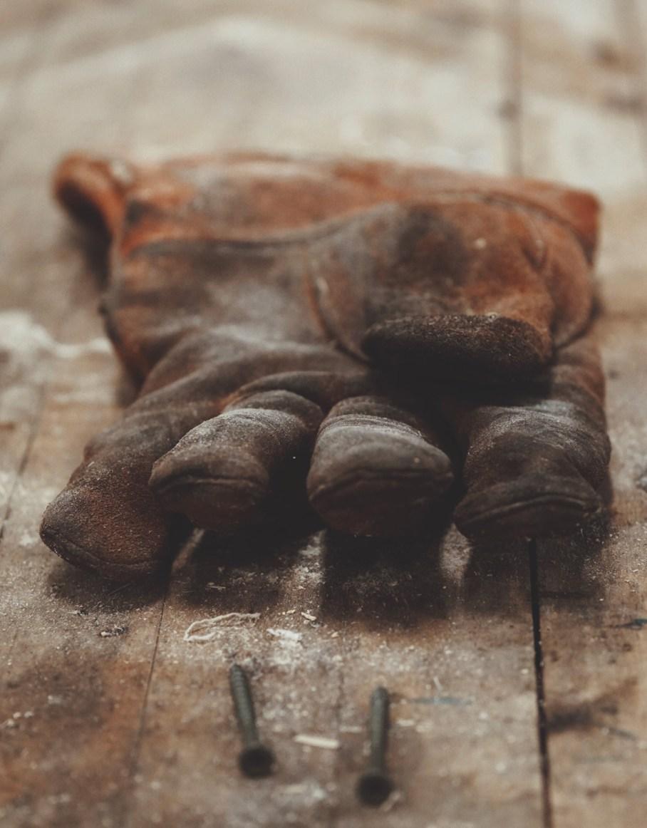 Work Gloves by Justin Hamm