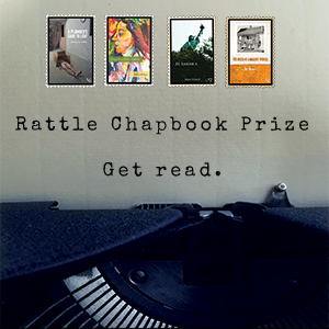 2022 Rattle Chapbook Prize Banner