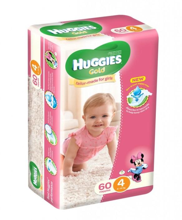 Huggies Size 4 Girls