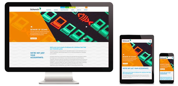 Schenck Responsive Website