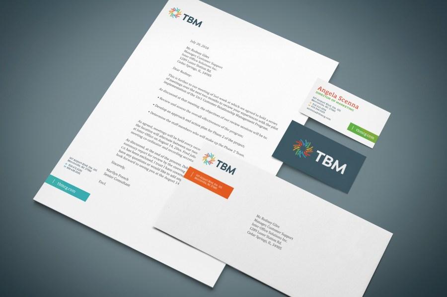 TBM Letterhead and Business Card
