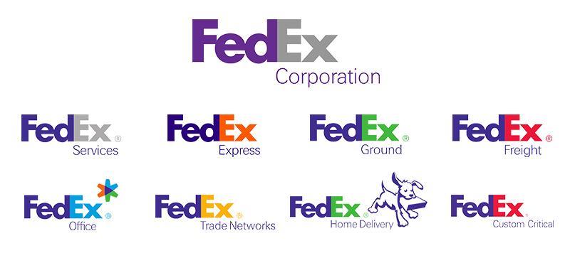 Brand Architecture FedEx