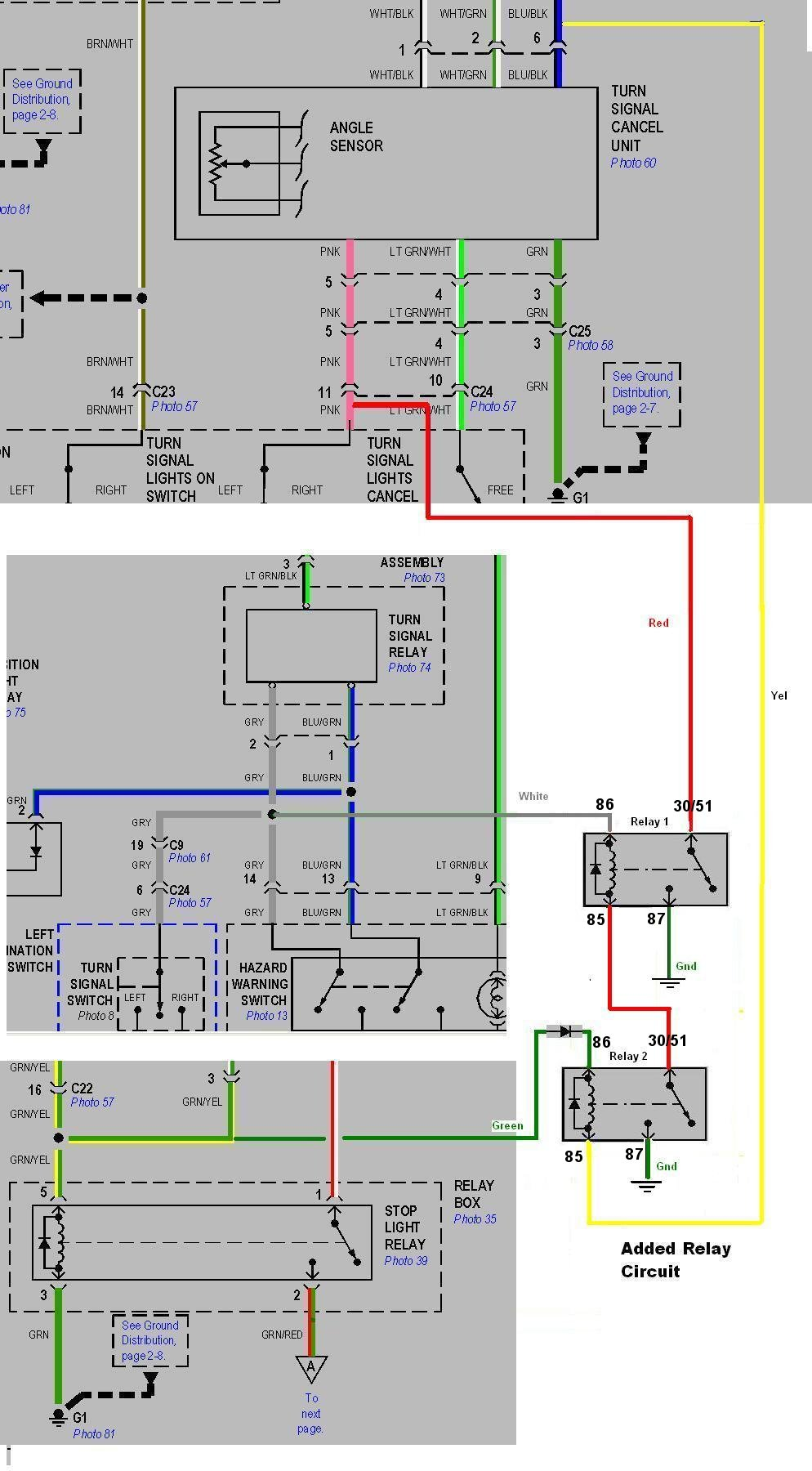 hight resolution of turn signal madness for the gl1800 6 pin trailer wiring diagram 2002 gl1800 wiring diagram