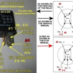 4 Pin Relay Wiring Diagram With Switch Ford Puma Central Locking Basics 101