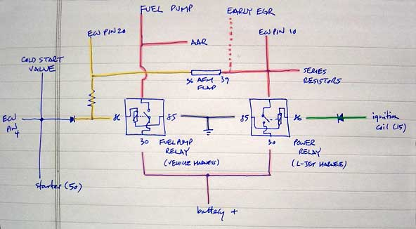 Air Cooled Vw Fuel Gauge Wiring Diagram Double Relay Demystified