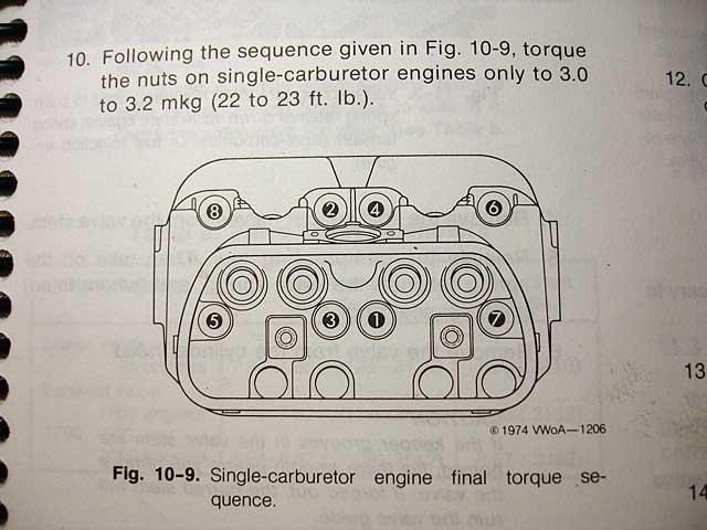 1972 porsche 914 wiring diagram 2005 f150 pcm head rebuilding t1 torque pt1 t2 pt2