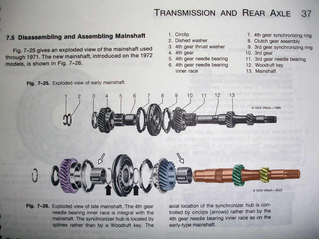 vw beetle transmission diagram antique reel volkswagen free