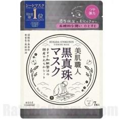 CLEAR TURN Bihada-Syokunin Black Pearl (Firming) Mask