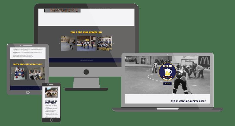 Rauch Digital Marketing - Team BEER ME Hockey Web image