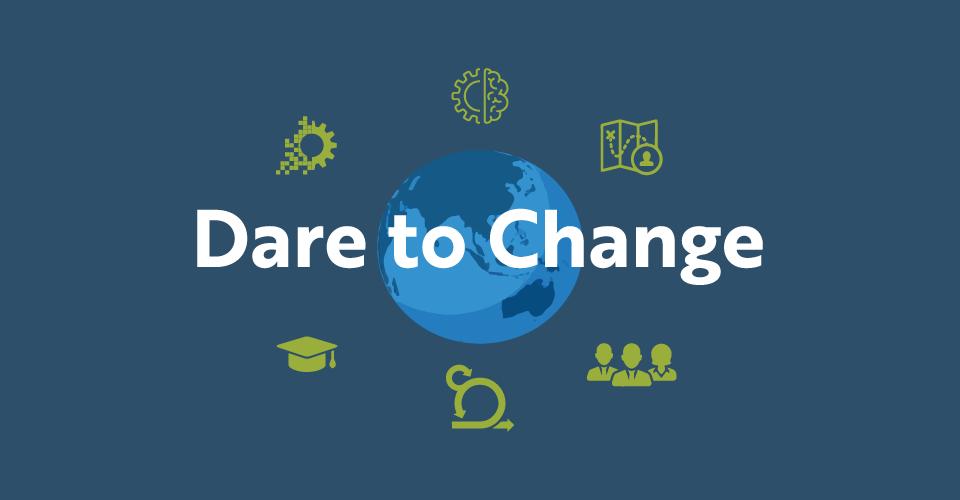 Dare to Change Header Image