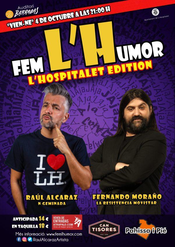 Fem L'Humor - Hospitalet - Raul Alcaraz - 04 OCT 2019 FERNANDO MORAÑO