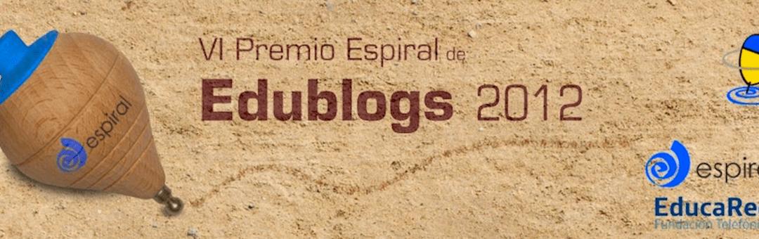"""Finalista de los """"Premios Espiral Edublogs 2012″"""