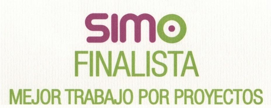 Finalista Mejor Trabajo por Proyectos – SIMO