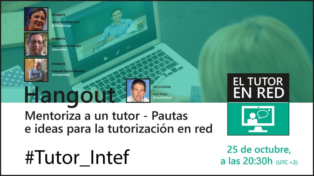 Directo INTEF «Mentoriza un tutor»