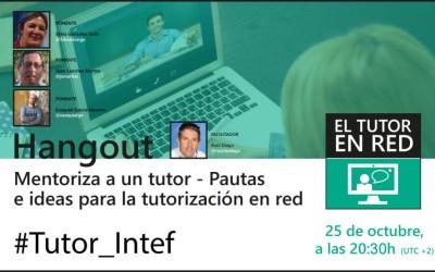"""Directo INTEF """"Mentoriza un tutor"""""""