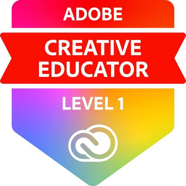 Adobe Creative Educator – Level 1