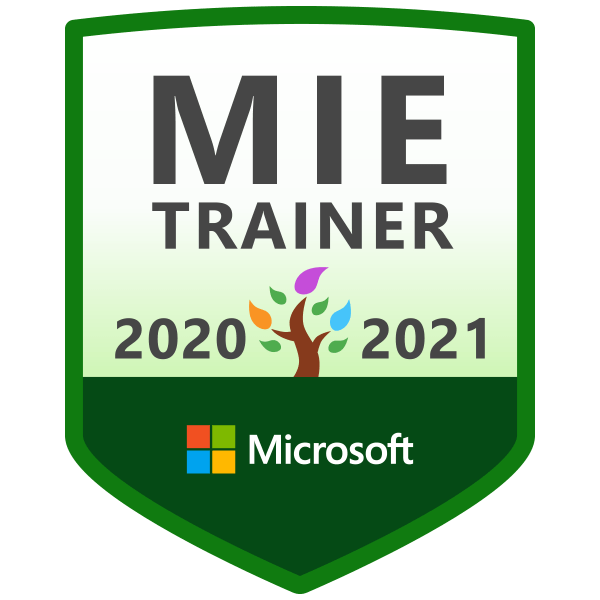Microsoft MIE Trainer 2020-2021